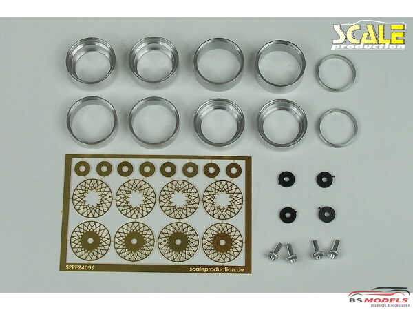 """SPRF24059 16"""" BBS E56 wheels & tires & nuts Multimedia Accessoires"""