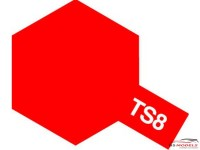 TAM85008 TS-8  Italian Red Paint Material