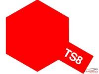 TAM85008 TS-8  Italian Red Paint Material