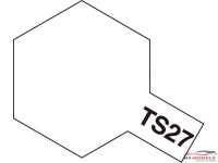 TAM85027 TS-27  Matt White Paint Material