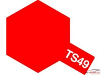 TAM85049 TS-49  Bright Red Paint Material