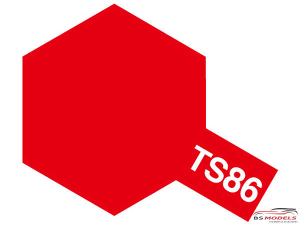 TAM85086 TS-86  Pure Red Paint Material