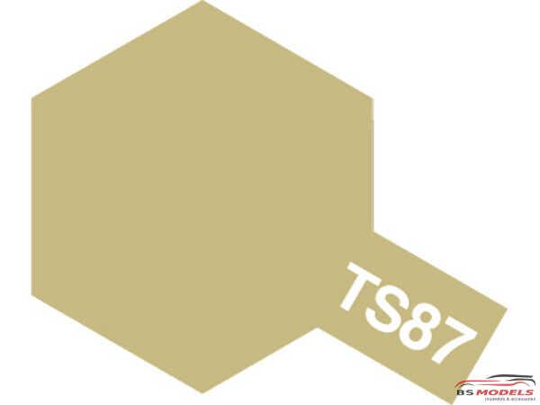 TAM85087 TS-87  Titanium Gold Paint Material