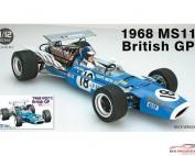 EBR13001 Matra MS11  1968 British GP Plastic Kit