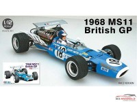 EBR13001 Matra MS11  1968 British GP Plastic Kit