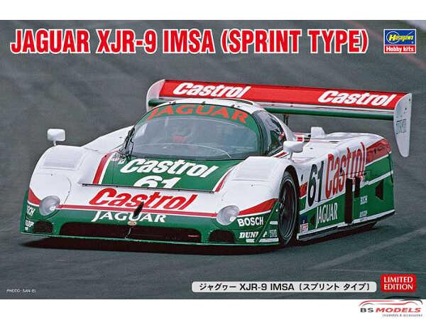 HAS20441 Jaguar XJR-9  IMSA-GTP  (sprint type) Plastic Kit