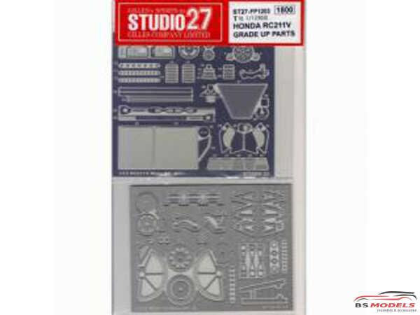 STU27FP1203 Honda RC211V   2002/2003  upgrade parts Etched metal Accessoires