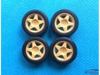 "24SP15-5 15"" Speedline 2110 5 spoke Wheels + Tires Multimedia Accessoires"