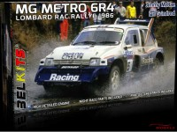 BEL016 MG Metro 6R4  J. McRae-I. Grindrod  Lombard RAC Rally 1986 Plastic Kit