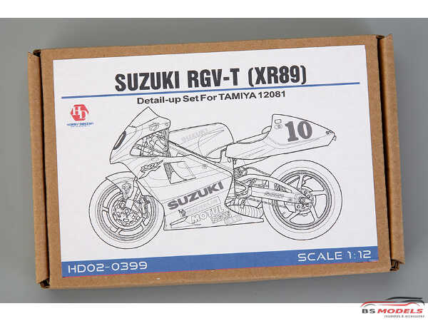 HD020399 Suzuki RGV-T(XR89) PE+Metal+resin parts FOR TAM 14081 Multimedia Accessoires