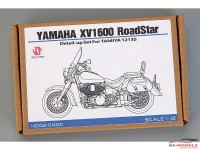 HD020400 Yamaha XV1600 Roadstar Custom PE+metal parts  FOR TAM 14135 Multimedia Accessoires