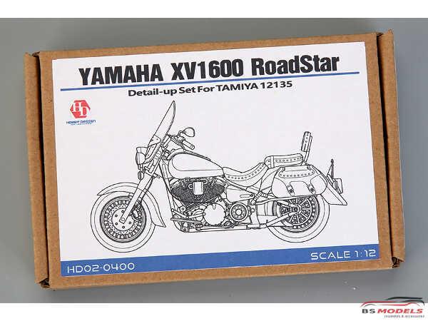 HD020400 Yamaha XV1600 Roadstar Custom PE+metal parts  FOR TAM 14135 Multimedia Accessoires