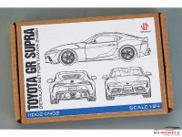 HD020402 Toyota GR Supra detail-up set (PE+metal+resin+metal logo) FOR TAM 24351 Multimedia Accessoires