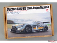 HD030548 Mercedes AMG GT3 Door&Engine detail kit (resin+PE+metal+logo) Multimedia Accessoires