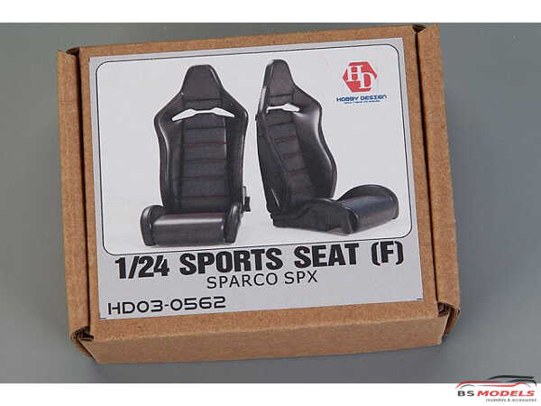 HD030562 Sports Seats (F) Sparco Spx (resin+PE+decals) Multimedia Accessoires