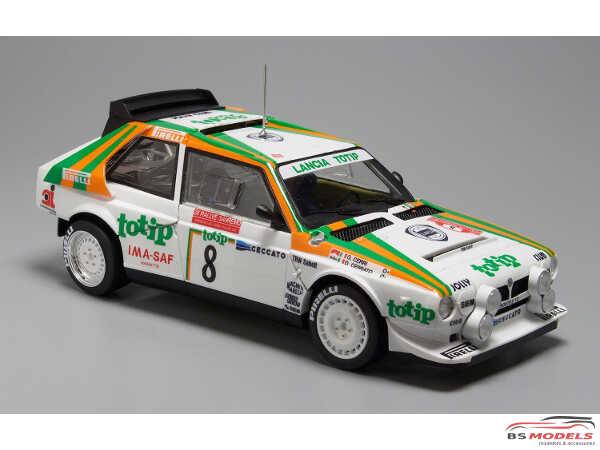 PN24005 Lancia Delta S4  TOTIP  San Remo 1986 rally Plastic Kit