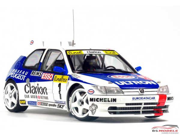 PN24009 Peugeot 309 MAXI 1996 Monte Carlo rally Plastic Kit