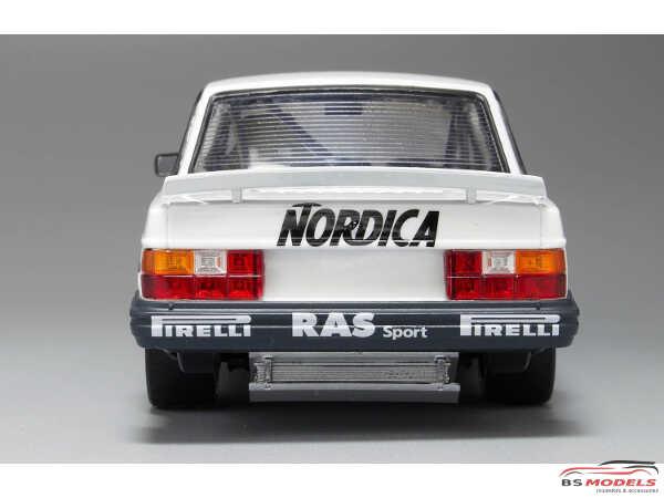 PN24013 Volvo 240 Turbo ETCC  1986 Hockenheim winner Plastic Kit