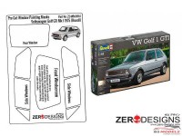 ZDWM0057 Volkswagen Golf GTI MK1 Pre-Cut Window Painting Mask (Revell) Multimedia Accessoires