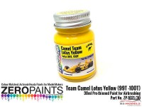 ZP1021-30 Team Camel Lotus Yellow (99T-100T Paint 30ml Paint Material
