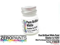 ZP1026-30 Pure Brilliant White Paint (Similar to TS26) 30ml Paint Material