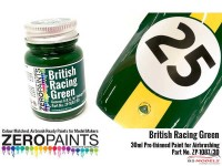 ZP1087-30 British Racing Green - BRG (solid) Paint 30ml Paint Material