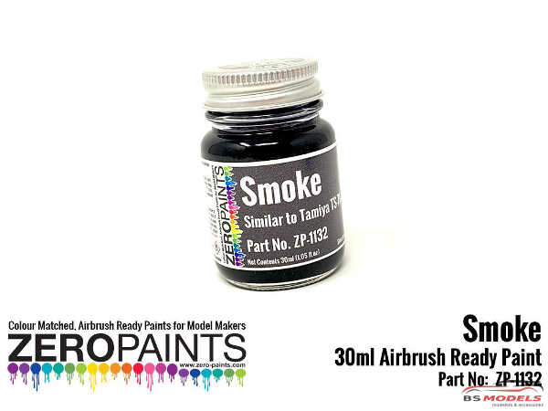 ZP1132 Transparant Smoke Paint (similar to TS71-X19) 30ml Paint Material