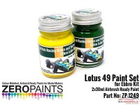 ZP1249 Lotus 49 (Ebbro) Paint set 2x30ml Paint Material
