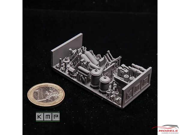 KMP18017 Rally Interiors super detailing set  (2 sets) Resin Material