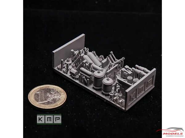 KMPTK24081 Rally Interiors super detailing set (2 sets) Resin Material