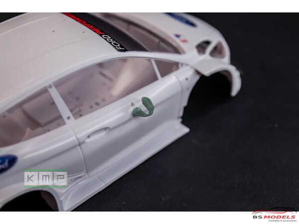 KMPTK24104 Fiesta WRC+  2019-2020  Aero upgrade + Test car decals Resin Material
