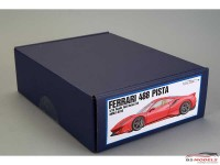 AM020010 Ferrari 488 Pista Full Detail Kit Multimedia Kit