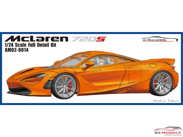 AM020014 Mclaren 720S Full Detail Kit Multimedia Kit