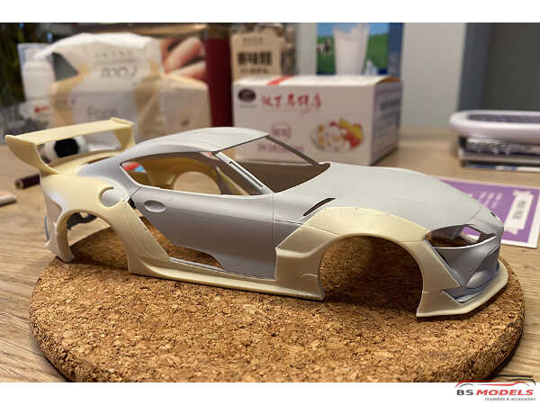 HD030564 Rocket Bunny Toyota Supra Transkit A for TAM Multimedia Transkit
