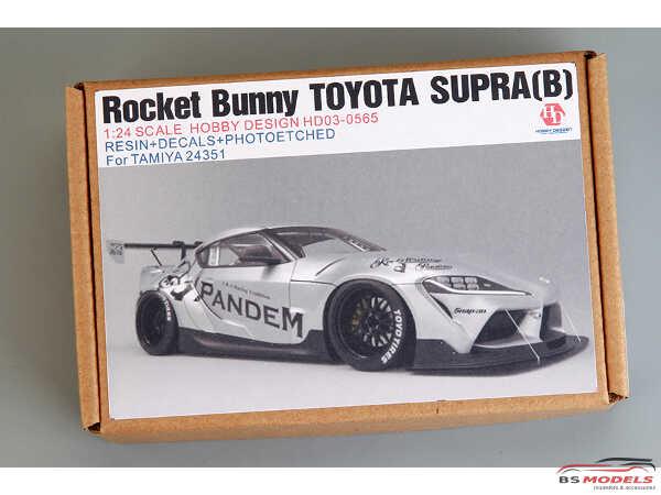 HD030565 Rocket Bunny Toyota Supra Transkit B for TAM Multimedia Transkit