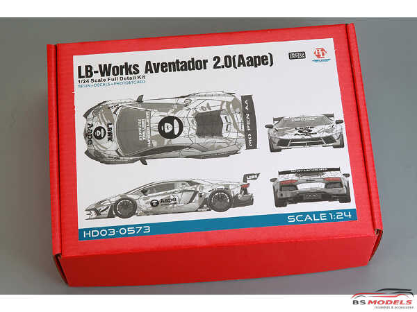 HD030573 LB-Works Aventator 2.0  (Aape) Full Detail Kit Multimedia Kit