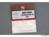 HD070094 Antenna set C Multimedia Accessoires