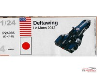 P24085K Nissan Deltawing  Le Mans 2012 Resin Kit