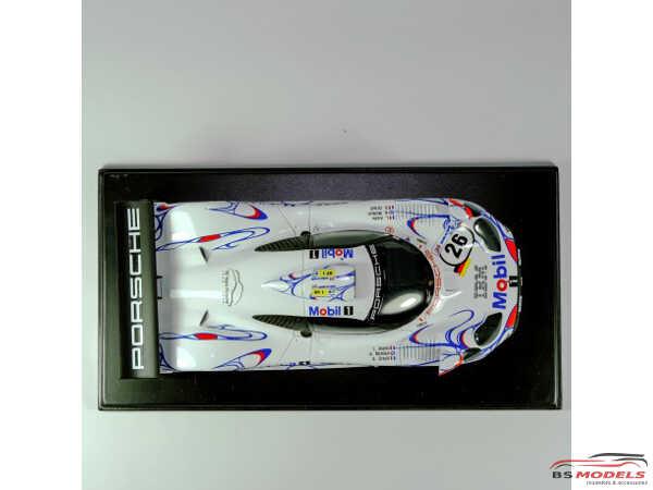 """P24114K Porsche 911 GT1 """"Mobil""""  Le Mans 1998 winner #25/26 Resin Kit"""