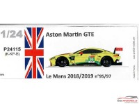 P24115K Aston Martin GTE Le Mans 2019/2019 Resin Kit