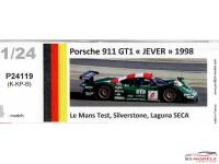 """P24119K Porsche 911 GT1 """"Jever""""  1998 Le Mans test"""
