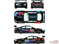 RDE24032 BMW M6 GT3 #34 Liqui Moly 12h of Bathurst 2020 Waterslide decal Decal