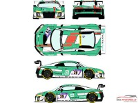 RDE24033 Audi R8 LMS GT3 #29 ADAC Zurich 24h of Nurburgring 2017 Waterslide decal Decal