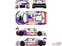 RDE24034 Audi R8 LMS GT3 #75A Liqui Moly 12h of Bathurst 2017 Waterslide decal Decal