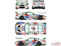 RDE24036 BMW M6 GTD  #96 Rolex 24h of Daytona / IMSA Weathertech 240  Daytona 2020 Waterslide decal Decal