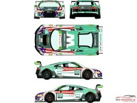 RDE24038 Audi LMS GT3  #29 IMSA Weathertech Championship 6h of The Glen 2018 Waterslide decal Decal