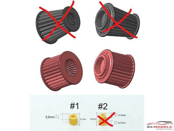 SP24288-1 Airfilter (2pcs) Resin Accessoires