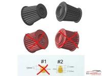 SP24288-2 Airfilter (2pcs) Resin Accessoires