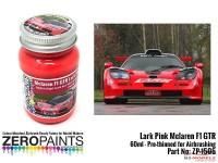 ZP1505 Lark Pink - Mclaren F1 GTR Paint 60ml Paint Material