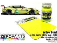 ZP1599 Yellow Pearl Aston Martin GTE Le Mans 2019 Paint 60ml Paint Material